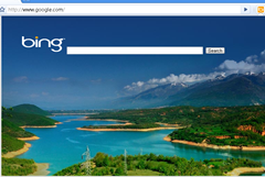 Bing Search Extension for Google Chrome